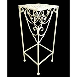 Table d'Appoint en Fer Blanc 52cm