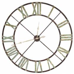 Horloge Géante en Fer Ø 122cm