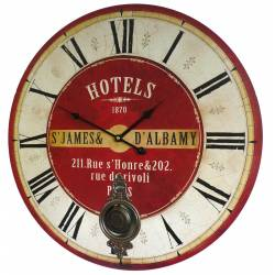 Horloge de Gare à Balancier