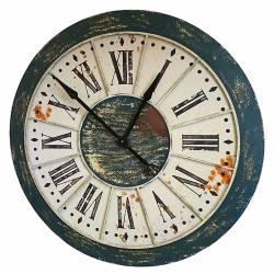 Grande Horloge Géante Pendule en Fer de Style Usine ou Loft 86cm