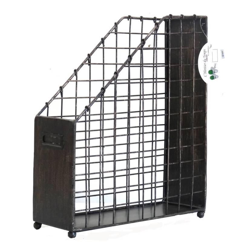 porte documents en acier bross l 39 h ritier du temps. Black Bedroom Furniture Sets. Home Design Ideas