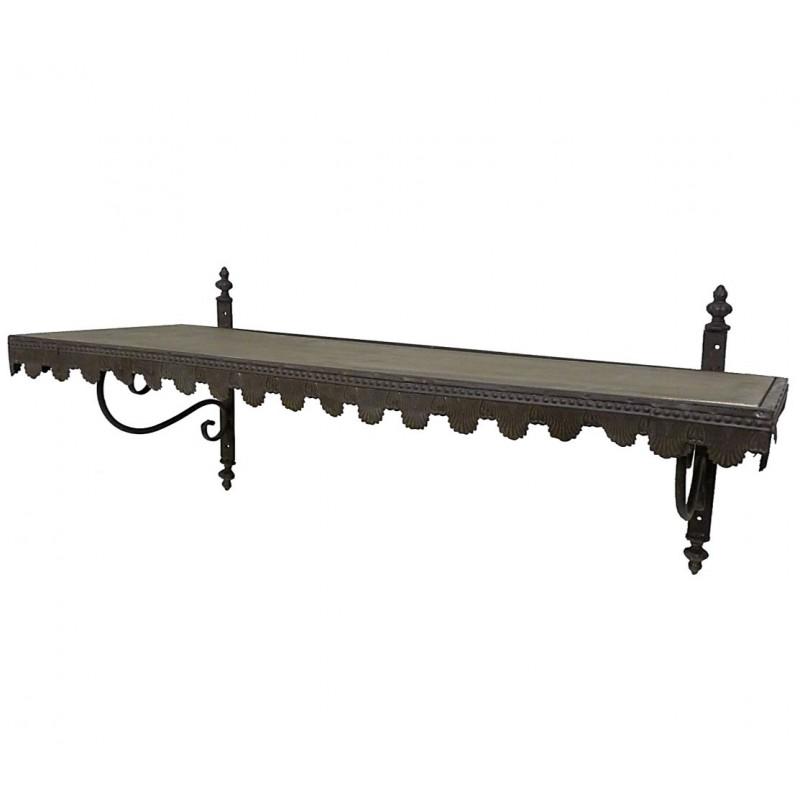 etag re epices murale en bois sur cr dence ou equerre ou etage plateau de rang ebay. Black Bedroom Furniture Sets. Home Design Ideas