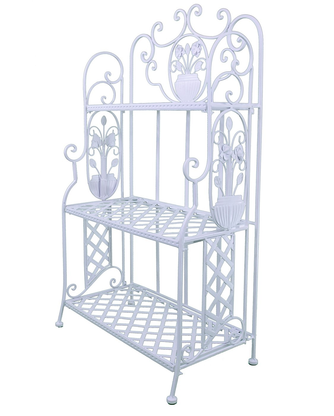 Meuble etagere cuisine songmics 4 tages etagre de for Meuble porte plante ikea