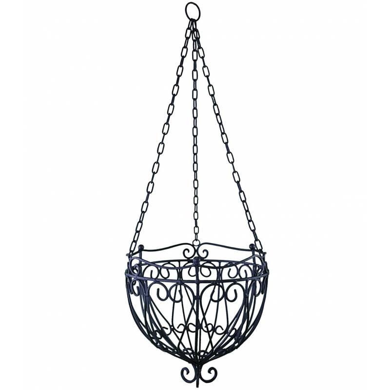 grande jardini re corbeille cache pot suspendue ou lustre pour v g taux style ch ebay. Black Bedroom Furniture Sets. Home Design Ideas