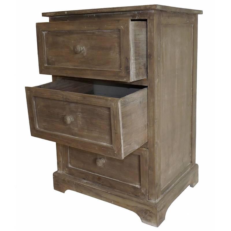 Table de chevet meuble d 39 appoint console de rangement for Table d appoint console