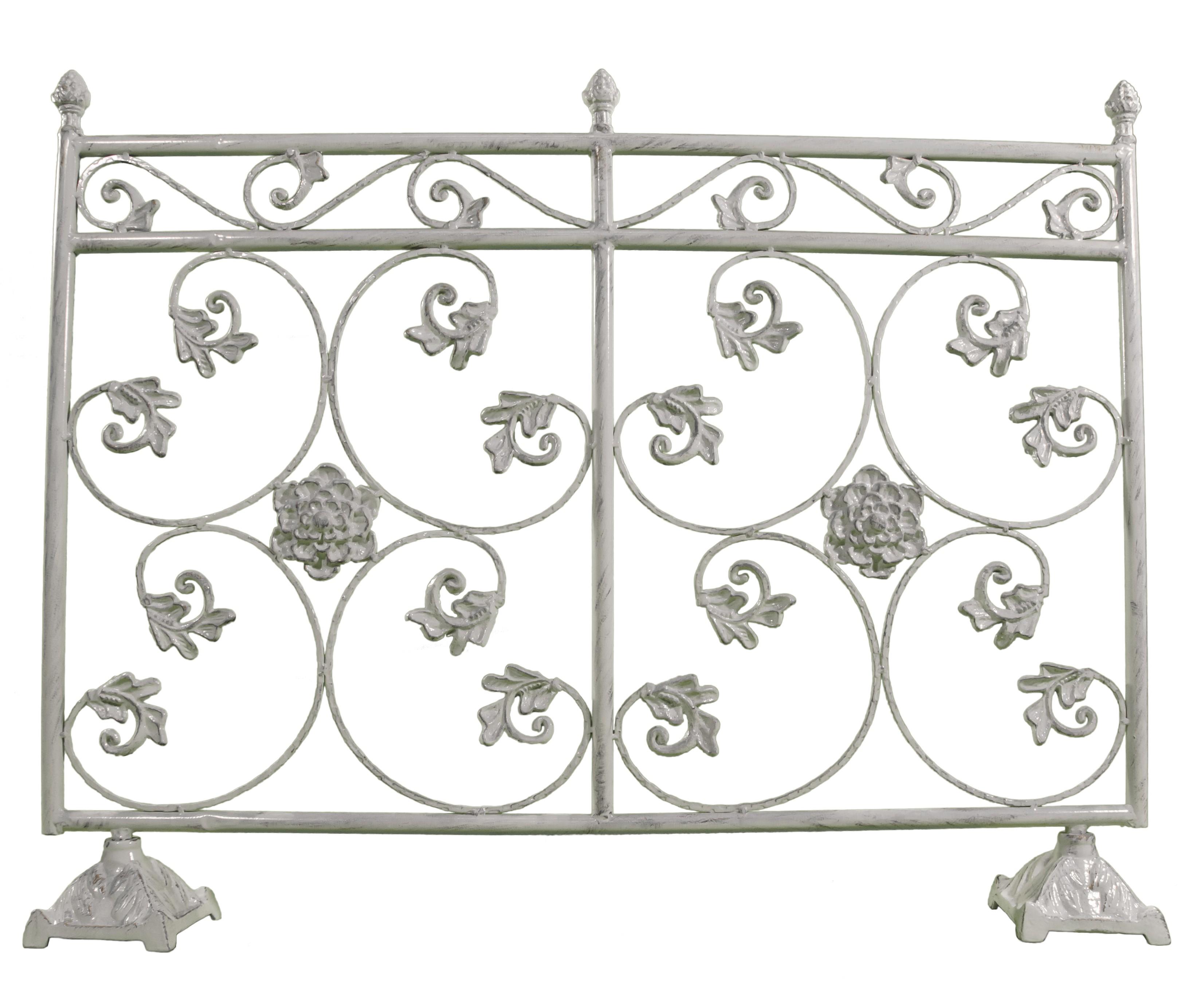 Petite Cloture De Jardin Blanche clôture de jardin grille barrière garde corps intérieur