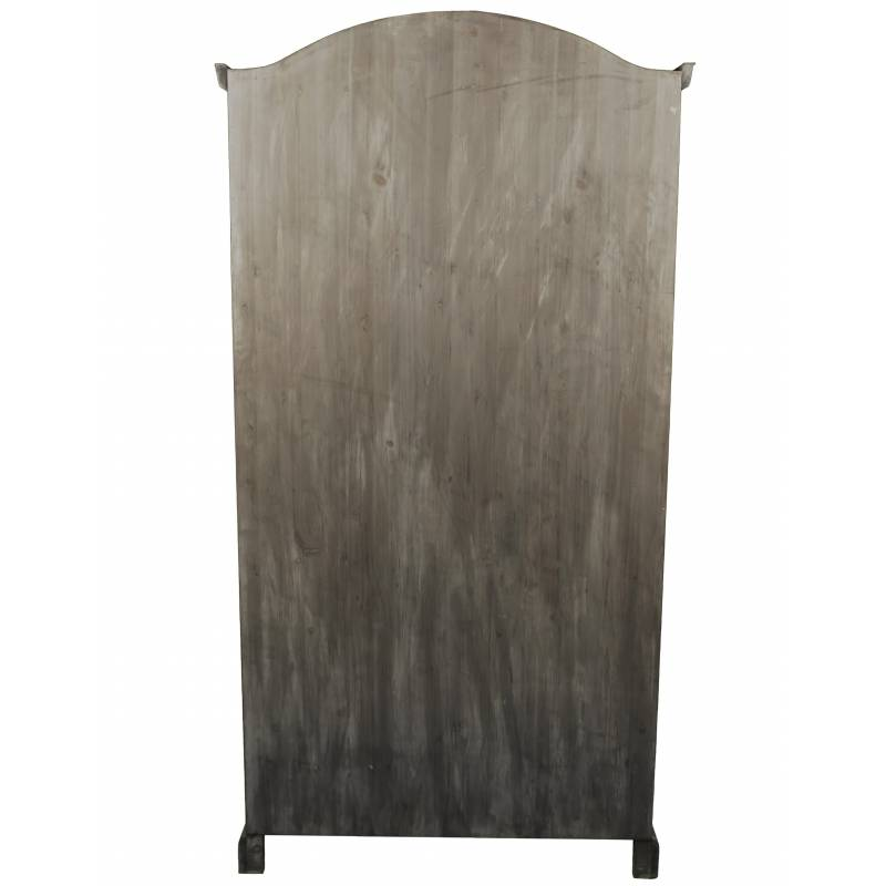 grande biblioth que meuble de rangement vitrine vaisselier en bois 5 etages 41x101x198cm l. Black Bedroom Furniture Sets. Home Design Ideas