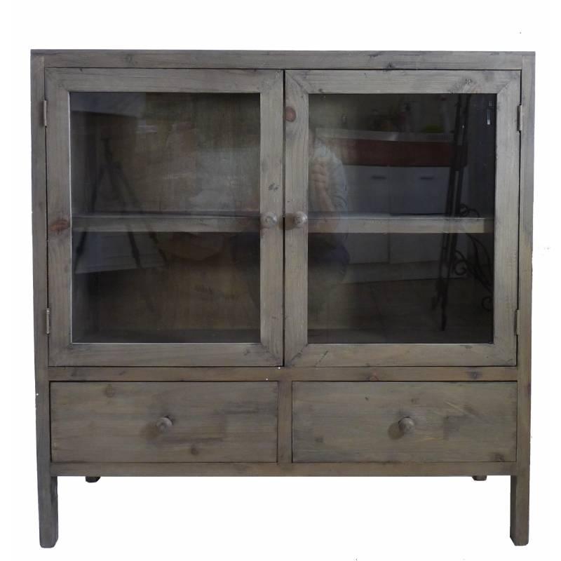 bahut de cuisine 2 portes confiturier petit vaisselier. Black Bedroom Furniture Sets. Home Design Ideas