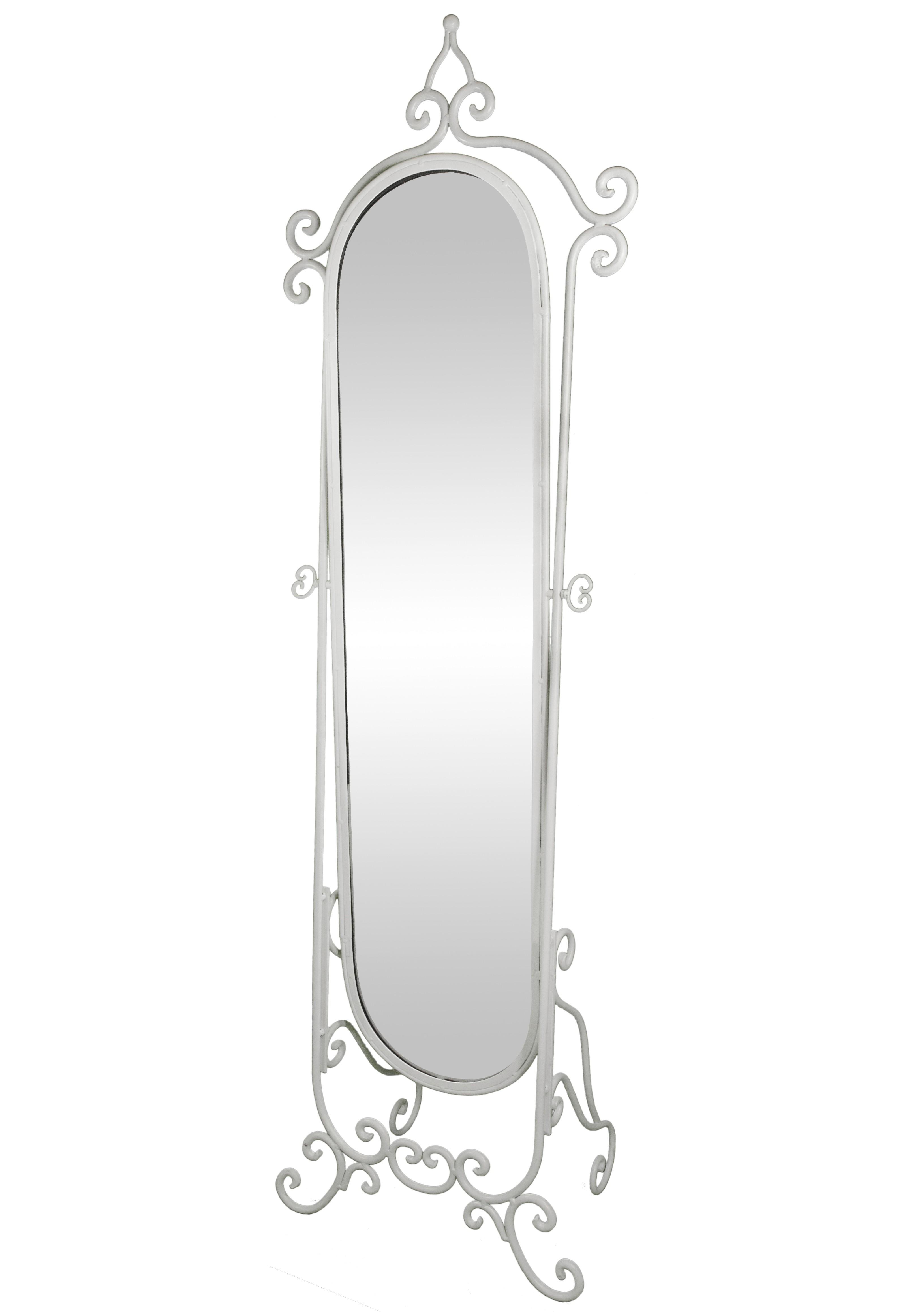 Grand Miroir Psyché sur Pied Glace Orientable Meuble de Chambre ou ...
