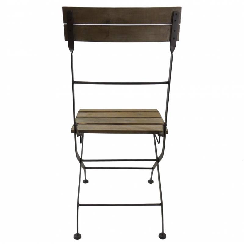 Affordable Chaise Pliante Fer Fauteuil Interieur Exterieur En Bois Et With