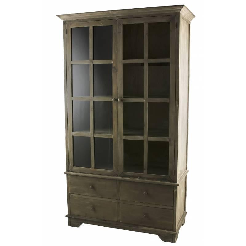 Vaisselier meuble de cuisine ou salle manger bahut de for Meuble de salle a manger en bois
