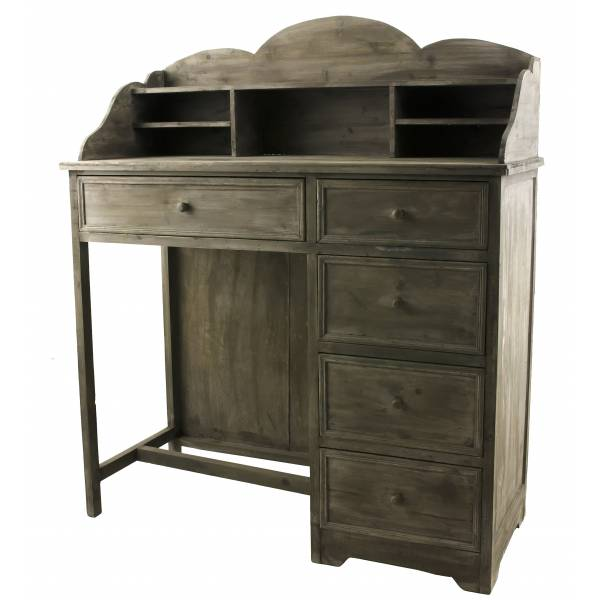 bureau en bois style ancien secr taire console en bois 5. Black Bedroom Furniture Sets. Home Design Ideas