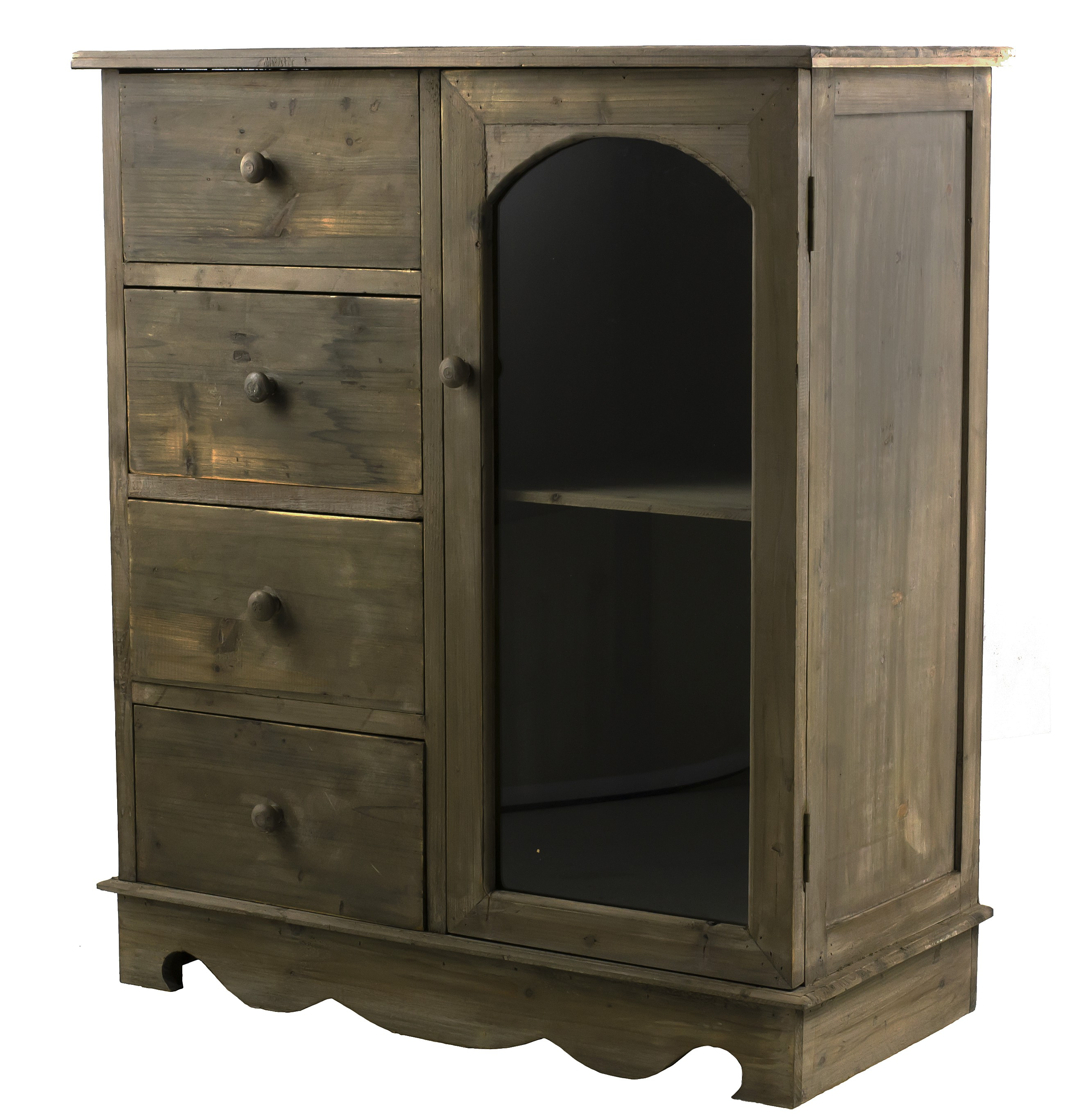 buffet cuisine en bois buffet 4 portes 4 tiroirs en bois. Black Bedroom Furniture Sets. Home Design Ideas