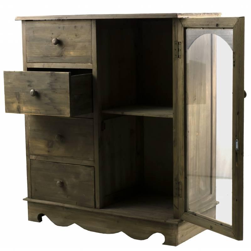 meuble de rangement confiturier buffet de cuisine. Black Bedroom Furniture Sets. Home Design Ideas