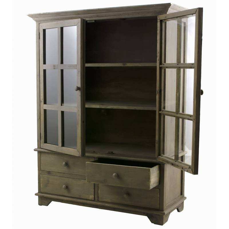 vaisselier meuble de cuisine ou salle à manger bahut de rangement ... - Meuble De Rangement Salle A Manger