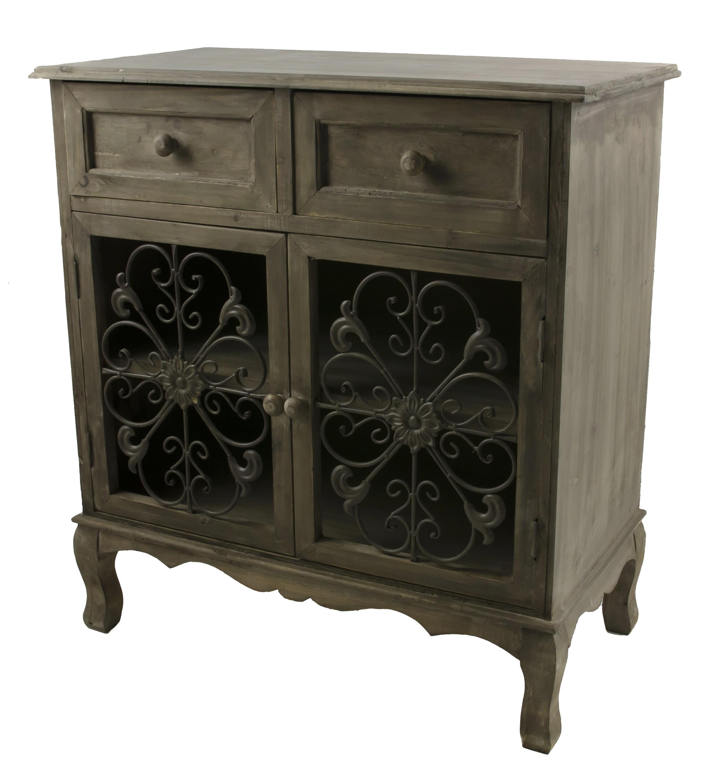Stunning bahut confiturier meuble de rangement duentre for Meuble console tv