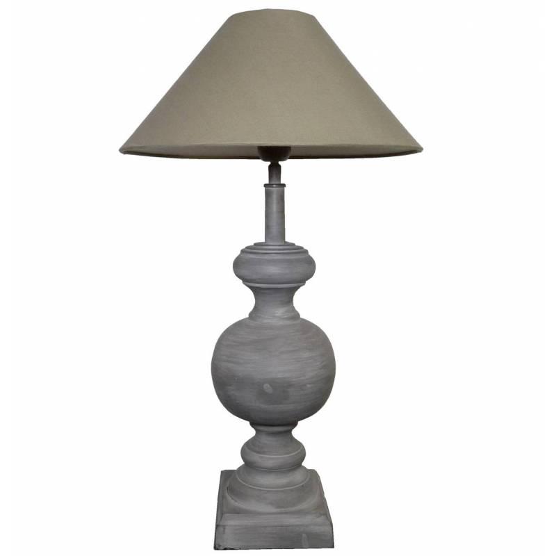 Grande lampe electrique poser luminaire de chevet en fer - Lampe a poser grande taille ...
