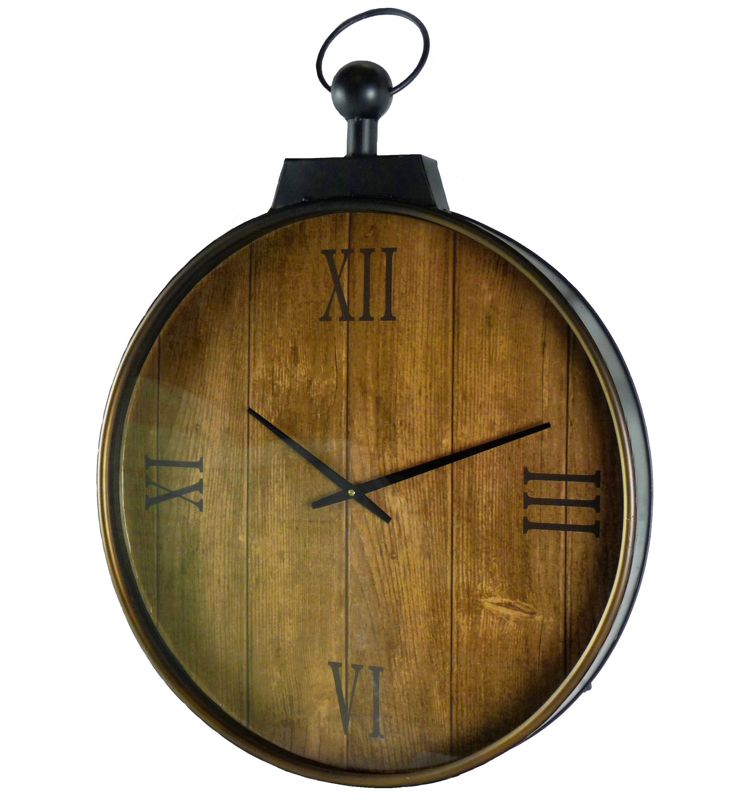 horloge murale géante style ancienne montre a gousset grande