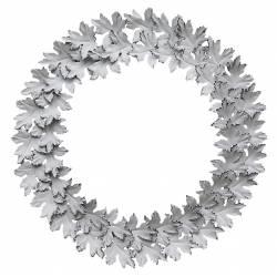 Couronne Fleur Décorative Blanche