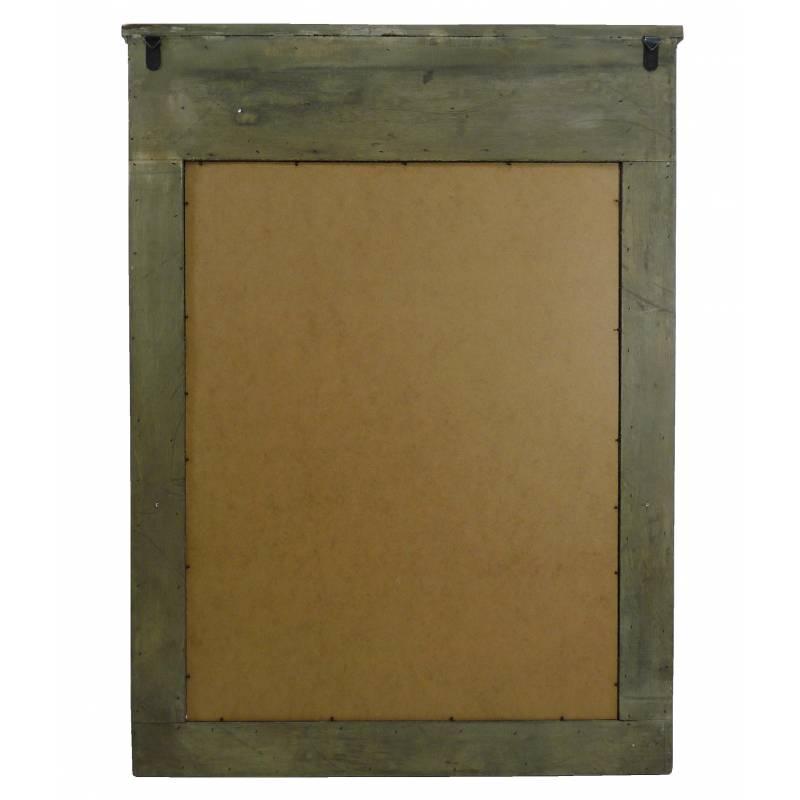 Grand Miroir De Chemin E G Ant Trumeau Style Ancien Rectangulaire En Bois 4x82x110cm L