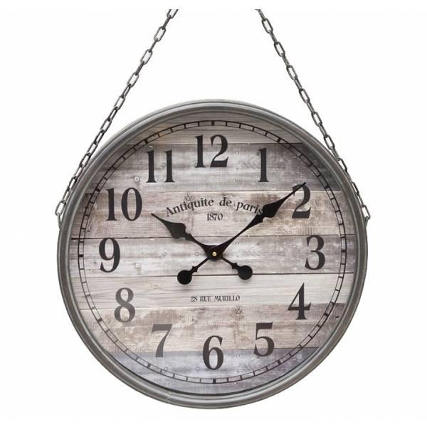 horloge g ante murale horloge murale geante achat vente horloge cdiscount horloge murale. Black Bedroom Furniture Sets. Home Design Ideas