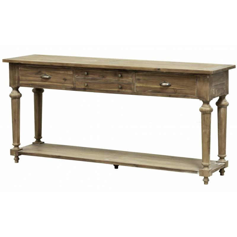 Console granville table de drapier meuble d 39 appoint de for Table d appoint console