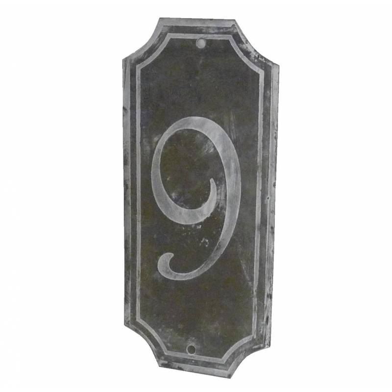 Plaque num ro d corative murale poser ecriteau avec for Plaque decorative murale