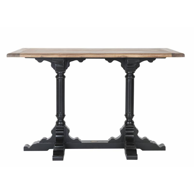 Grande table de bistrot de kercoet table de salle manger cuisine rectangula - Grande table de cuisine ...