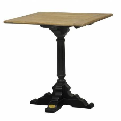 Table de bistrot pied simple de kercoet table d 39 appoint cuisine salle manger plateau carr e en - Plateau de table de cuisine ...