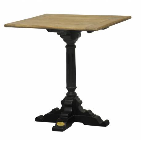 table de bistrot pied simple de kercoet table d 39 appoint. Black Bedroom Furniture Sets. Home Design Ideas