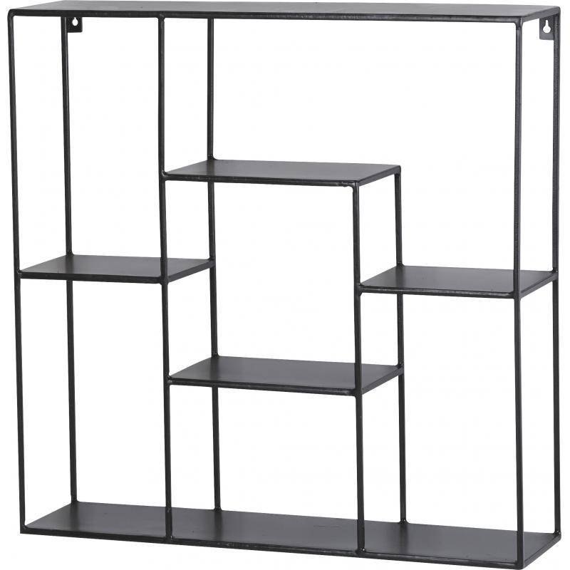 Etag re carr e 7 etag res anasta marque athezza support - Support mural etagere ...