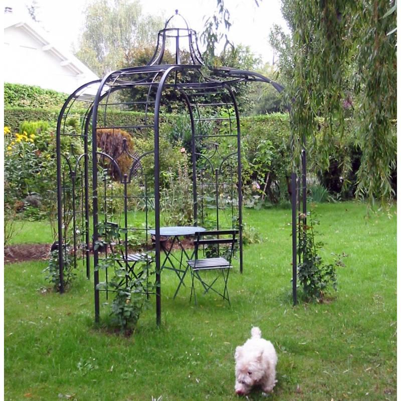 Gloriette Princess Small Tonnelle en Fer Forgé Pergola de Jardin ...