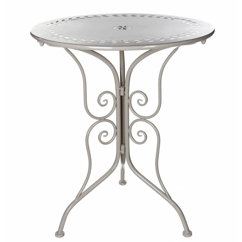 Table de salon de jardin bistrot console d 39 appoint bout de for Table d appoint jardin