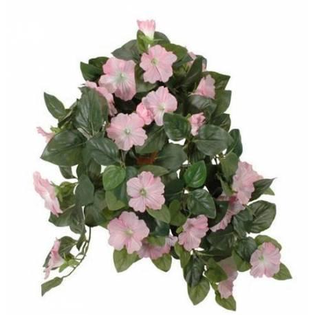 Fleurs artificielles en tissu dans son pot en terre cuite for Fleurs artificielles tissu