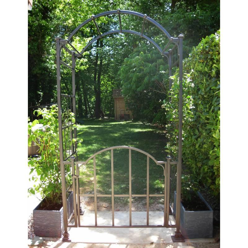 Arche Portillon Classic Garden Portail Arche  Rosiers De Jardin En