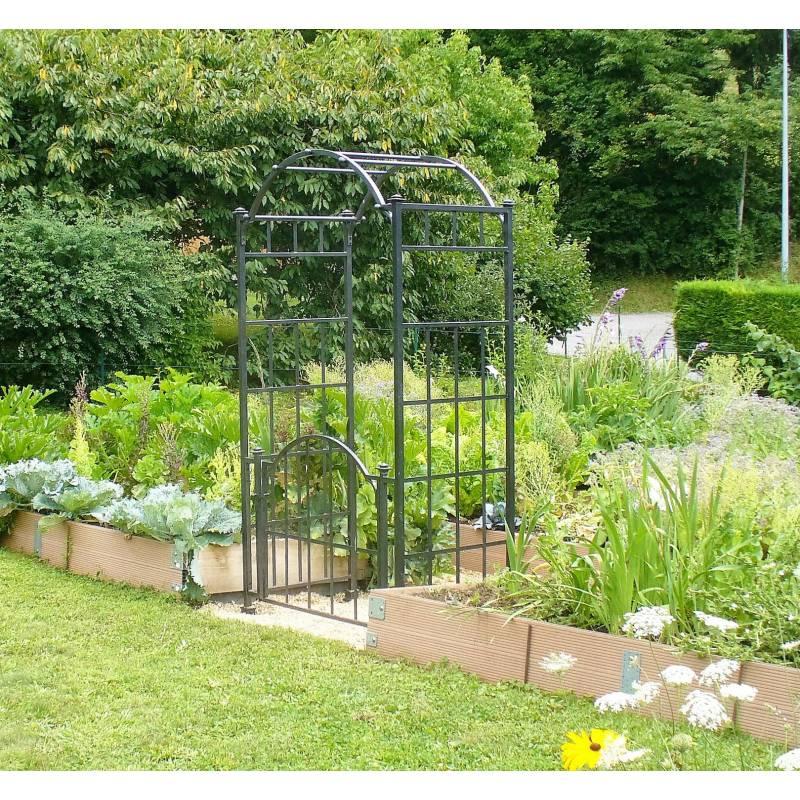 Arche Portillon Classic Garden Portail Arche à Rosiers De Jardin En