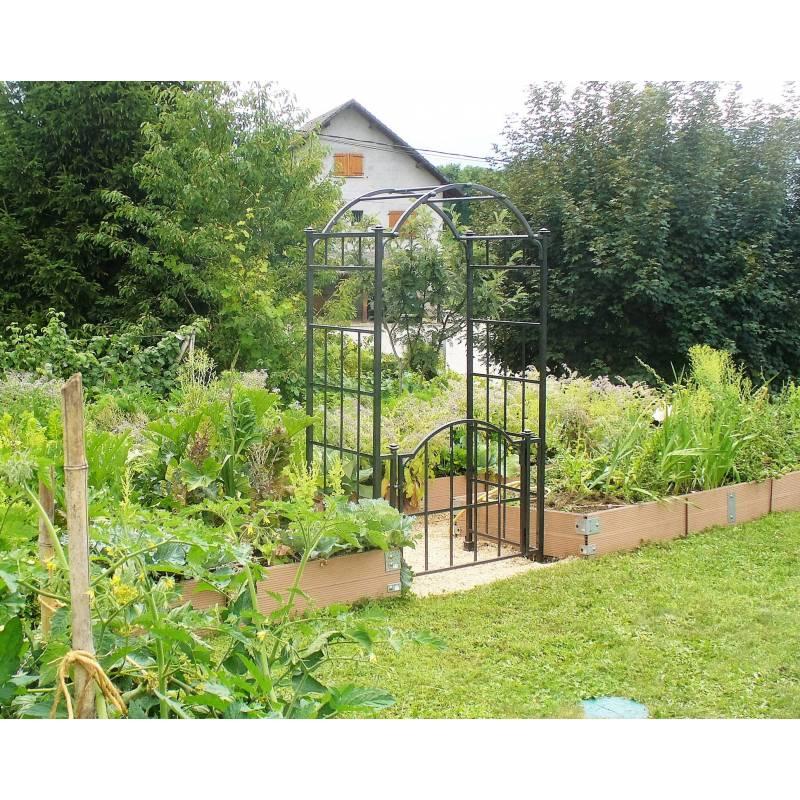 Arche Portillon Classic Garden Portail Arche à Rosiers De