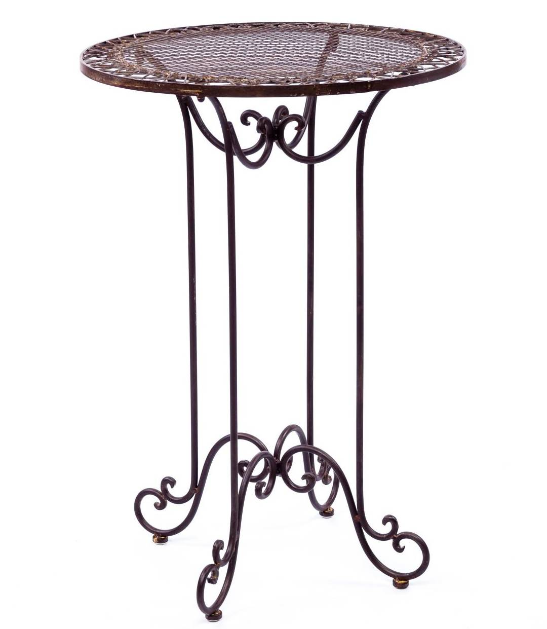 table de bar mange debout table haute d'appoint ronde bistrot