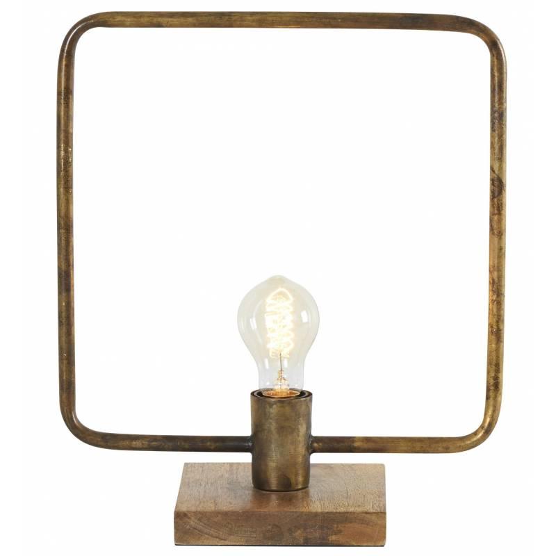 Lampe Carr E Tora Gamme Athezza Poser Luminaire Design Eclairage 1 Ampoule Electrique En M Tal