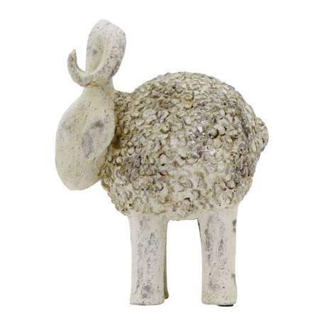 Statue repr sentation de b lier mouton decoration int rieure ext rieure en po - Statue deco interieure ...