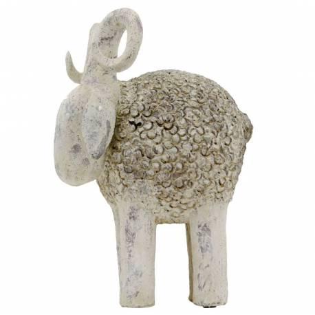 Statue repr sentation de b lier mouton decoration for Mouton deco jardin