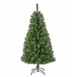 Sapin Artificielle Arbre de Noël sur Pied à Poser Joliment Fourni en Synthétique et Métal 120cm