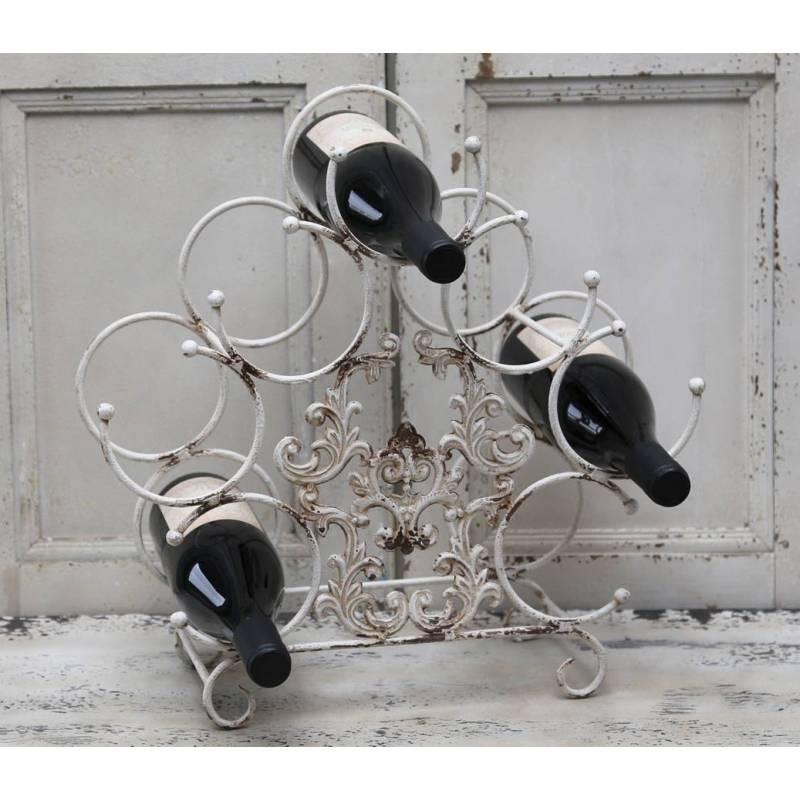 Porte bouteilles range boisson cave vin poser casier for Porte en fer pour cave