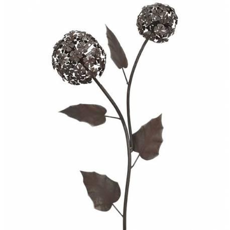 Branche d 39 hydrangea d coration florale pour jardin massif - Decoration metal pour jardin ...