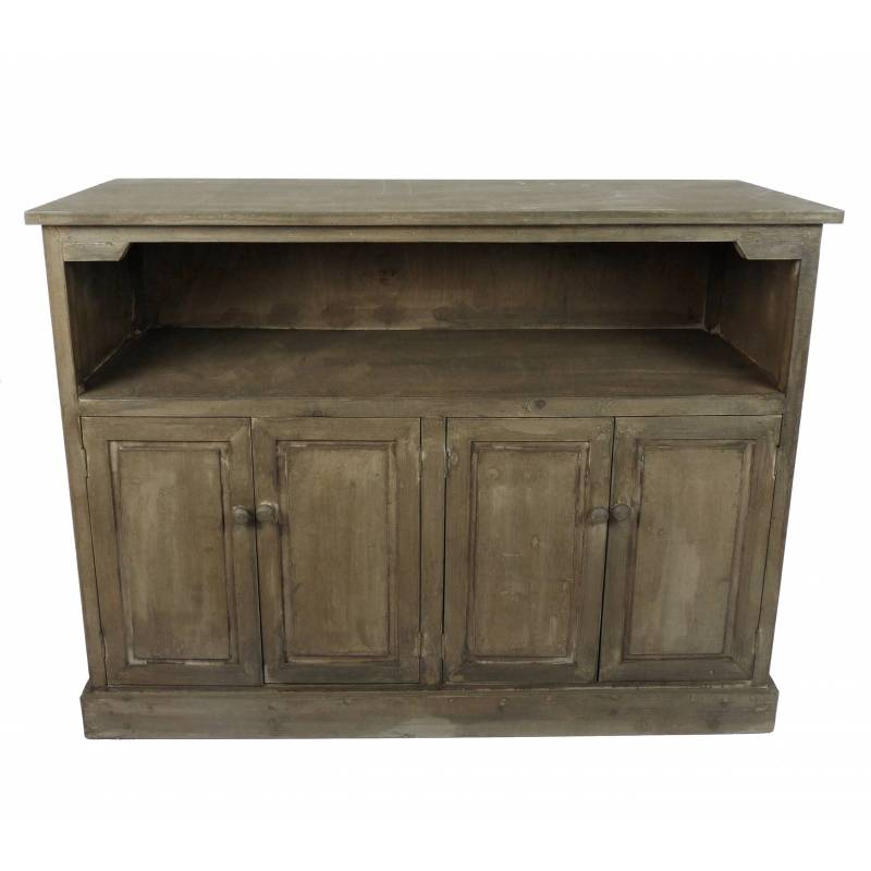 Comptoir de cuisine meuble de salle de bain bar bahut for Rangement bois salle de bain