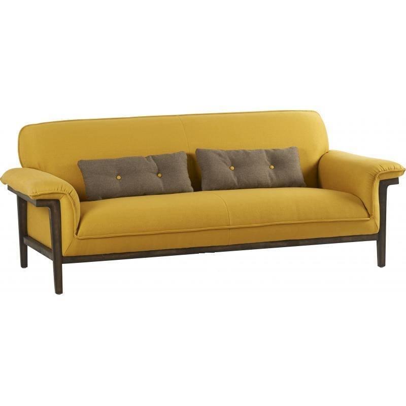 canap dijon marque hanjel 3 places look r tro art d co. Black Bedroom Furniture Sets. Home Design Ideas