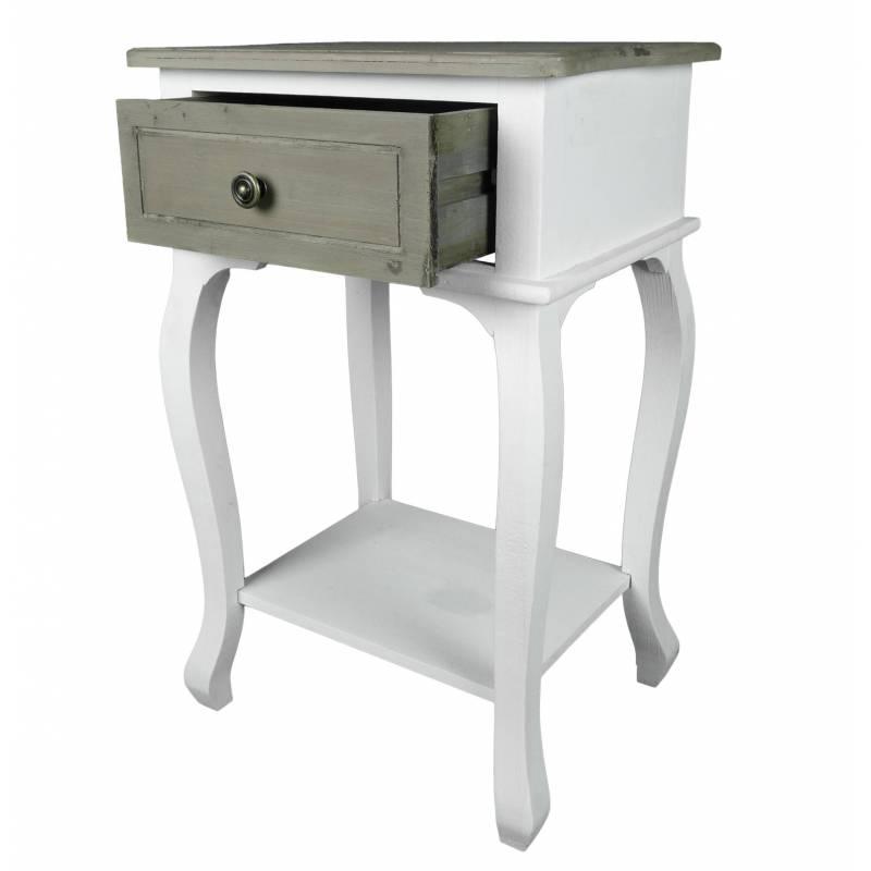 Console Gueridon: Table De Chevet Meuble D'Appoint De Chambre Console De