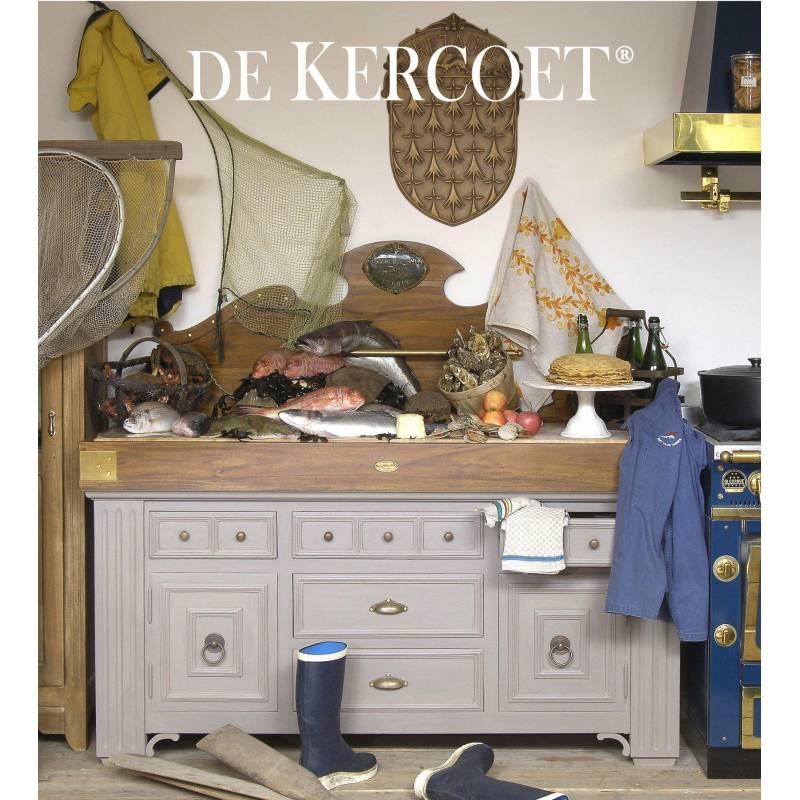 billot meuble d 39 office de cuisine de kercoet comptoir meuble de rangement en acacia massif h v a. Black Bedroom Furniture Sets. Home Design Ideas