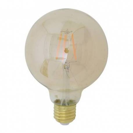 ampoule edison sph rique led e27 filament deco 25w l 39 h ritier du temps. Black Bedroom Furniture Sets. Home Design Ideas