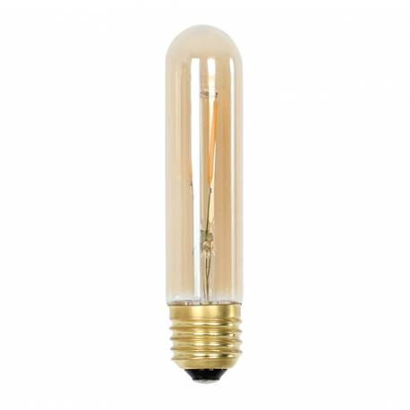 Ampoule Tube à LED E27 Puissance 3W Dimmable Lumière Ambrée 3x3x14,5cm